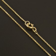 Gold Kette Anker