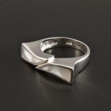 Silber Ring Perlmutt