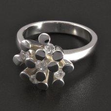 Silber Ring Zirkonias
