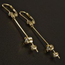 Gold Ohrhänger Brillante