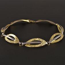 Gold Armband Gelb-/Weißgold
