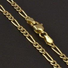 Gold Kinder-Kette Figaro