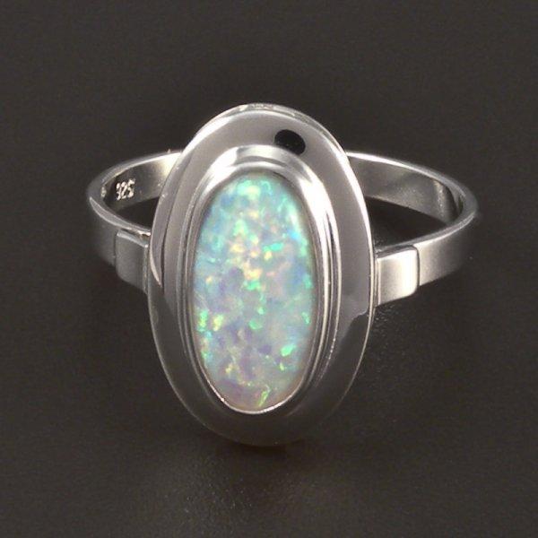 silber ring opal. Black Bedroom Furniture Sets. Home Design Ideas