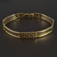 Goldarmband massiv