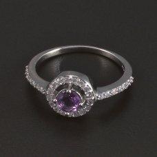 Silber Ring Amethyst
