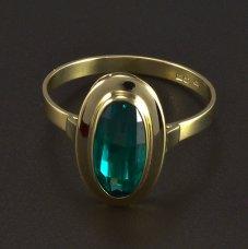 Goldring Smaragd