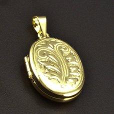 goldene Medailon