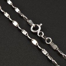 Silberkette rhodiniert