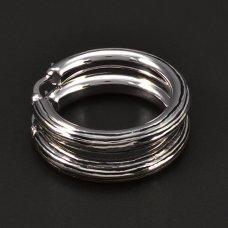rhodinierte Silbercreolen