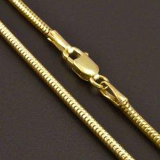 Schlangekette Gold 585