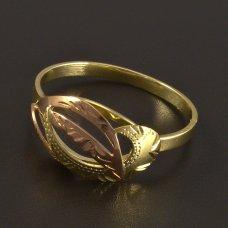 Hand Arbeit Gold-Ring