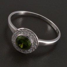 Ring in Weißgold 585