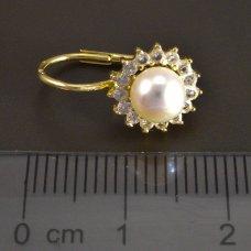 PerlenÖhrringe Gold 585