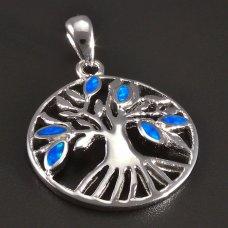 Silberanhänger- Baum des Lebens