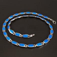 Collier mit Opal Silber 925