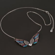 Engelsflügels Silber-Collier