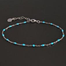 Silber-Armband-Türkis