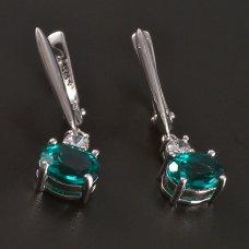 Ohrhänger in Silber- Nanozirkon