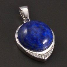 Silber-Anhänger-Lapis Lazuli