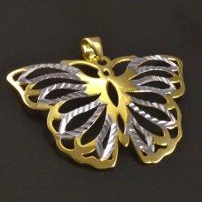 Goldanhänger 585/1000 Schmetterling