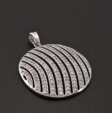 Silber Anhänger Zirkonias