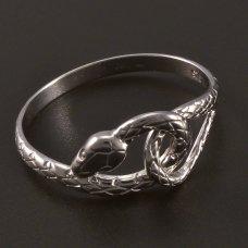 Schlange-Silberring