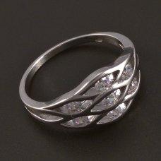 Silber-Ring-Zirkonia