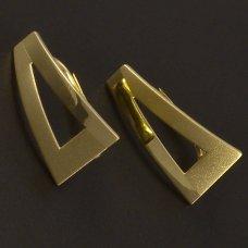 Goldene Ohrringe 585