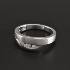 Silber Ring Zirkonias massiv