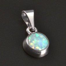 Wißgold Opal Anhänger 585