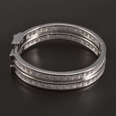 Zirkonia-Creollen-Silber