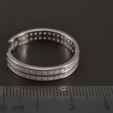 Silber-Creollen-Durchschnitt 25mm