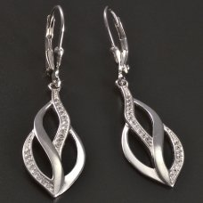 Ohrhänger in Silber