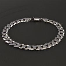 Herrenarmband in Silber