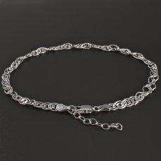 Fußkette- Silber