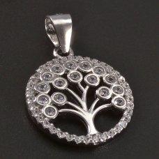 Baum des Lebens Silberanhänger