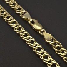 Goldkette 585/1000 Doplepanzer
