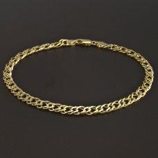 Armband Gold 585 Doplepanzer