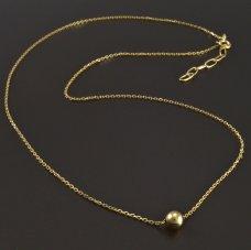 Halskette mit Kugel 585/1000