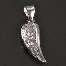 Engelflügel-Silberanhänger