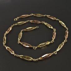 Collier-Gold585-Handarbeit