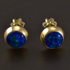 Goldohrstecker-grün Opal
