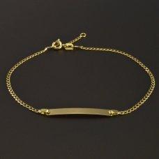Armband mit Platte