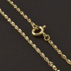 zarte Halskette Gold 585