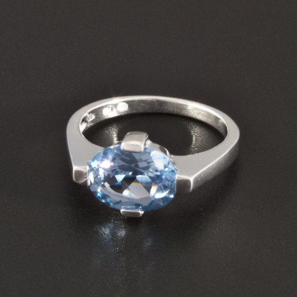 Silber Ring Aquamarin Goldpointshop De