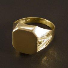 Gold Herren-Ring massiv