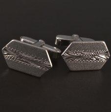 Silber-Manschettenknöpfe