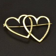 Gold Brosche 585