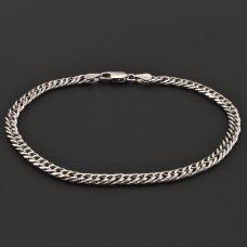 Doplepanzer-Armband-Silber