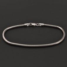 Silber-Schlangearmband